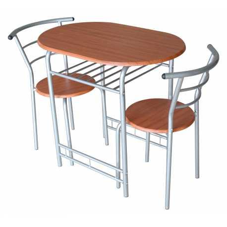 Conjunto mesa y dos sillas King