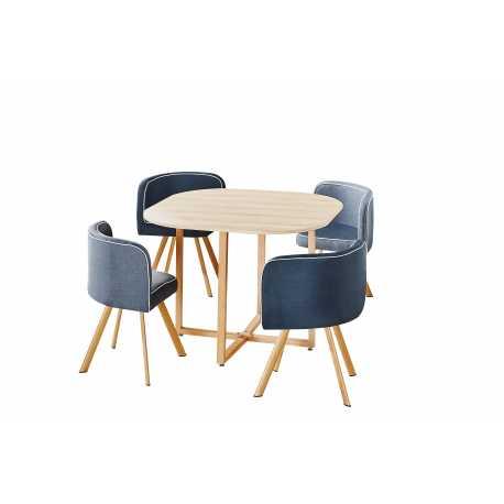 Set mesa con 4 sillas Real