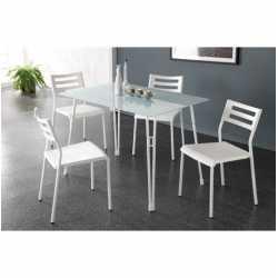Conjunto mesa + 4 sillas Chicago