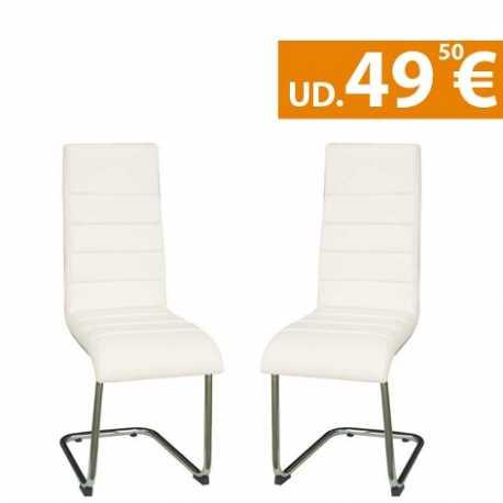 Conjunto 2 sillas de comedor Moscu